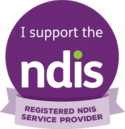 I support the NDIS - Registered NDIS service provider
